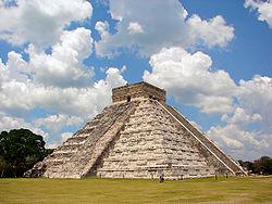 Maya Kukulcan Pyramid
