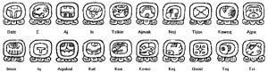 Mayan Astrology nagual symbols